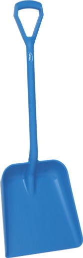 Vikan Shovel, D Grip, 379 x 345 x 90 mm, 1035 mm