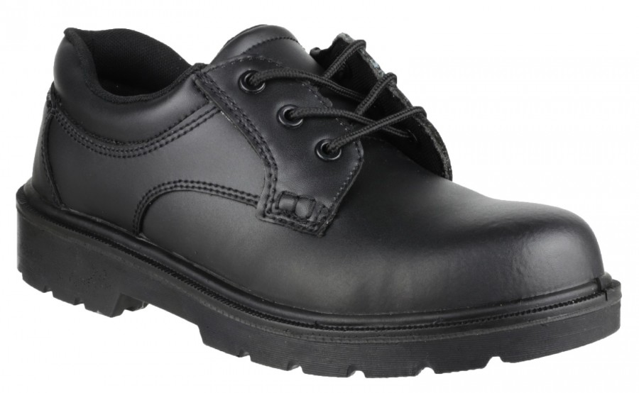 Amblers Black S1P Safety Shoes FS38C