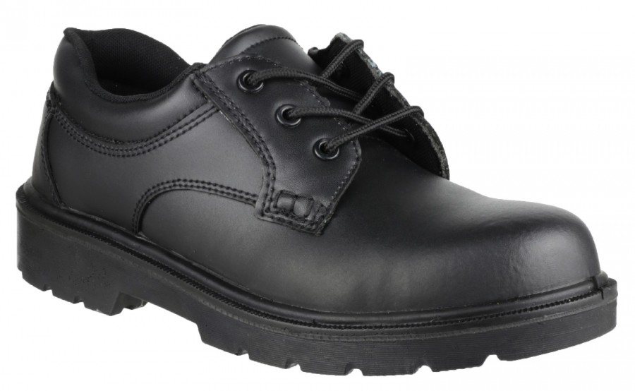 Amblers Black S1P Gibson Safety Shoes FS41