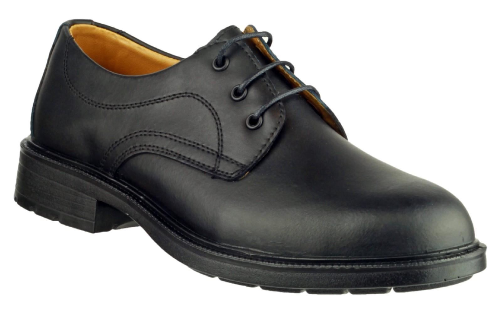 Amblers Black S1 Safety Shoes FS45