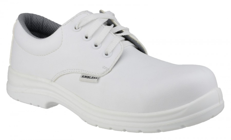 Amblers White S2 Unisex Safety Shoes FS511