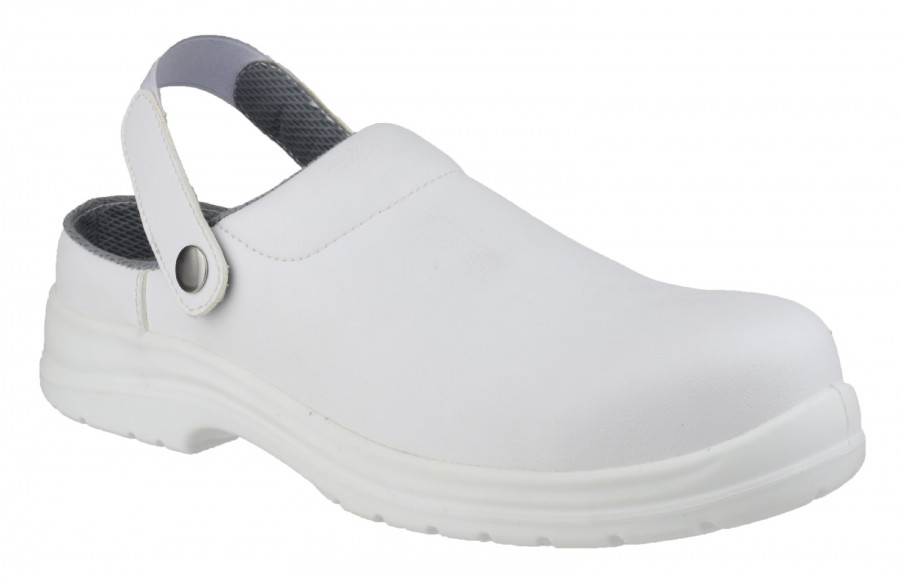Amblers White SB Safety Shoes FS512