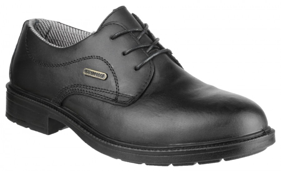 Amblers Black S3 Waterproof Safety Shoes FS62