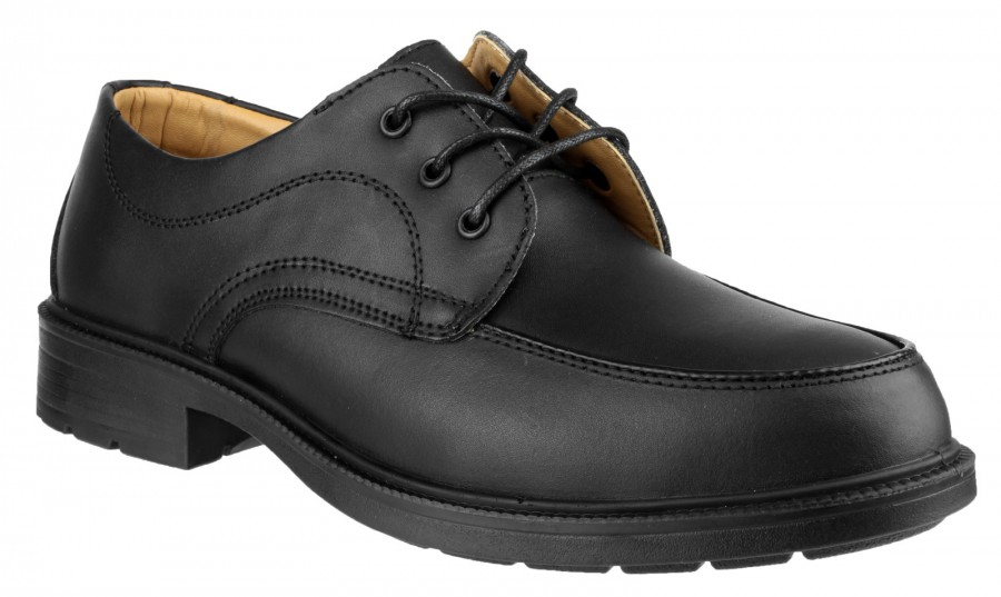 Amblers Black S1P Safety Shoes FS65