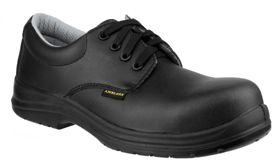 Amblers Black S2 Non Metal Safety Shoes FS662