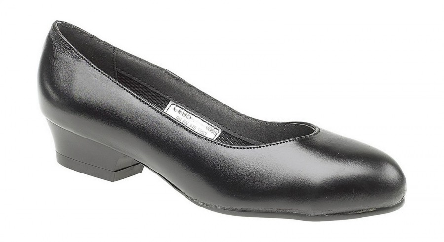 SIZE 4 ONLY - Amblers Black Women's Safety Court Shoes FS96