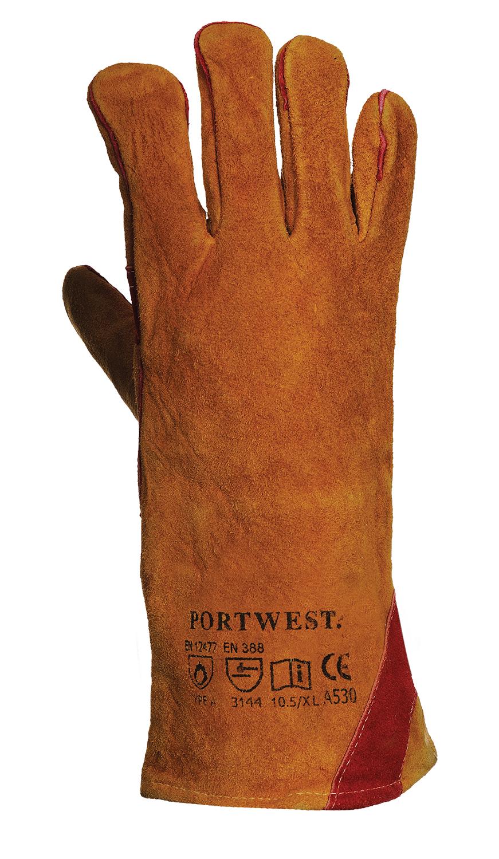 Portwest Reinforced Welding Gauntlet - A530