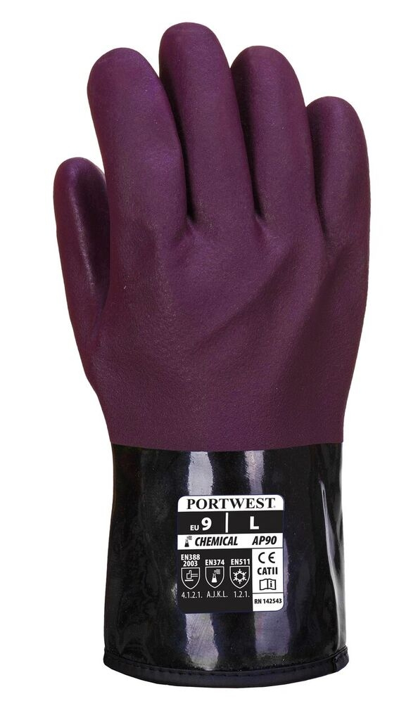 Portwest ChemTherm Fleece Lined Glove - AP90