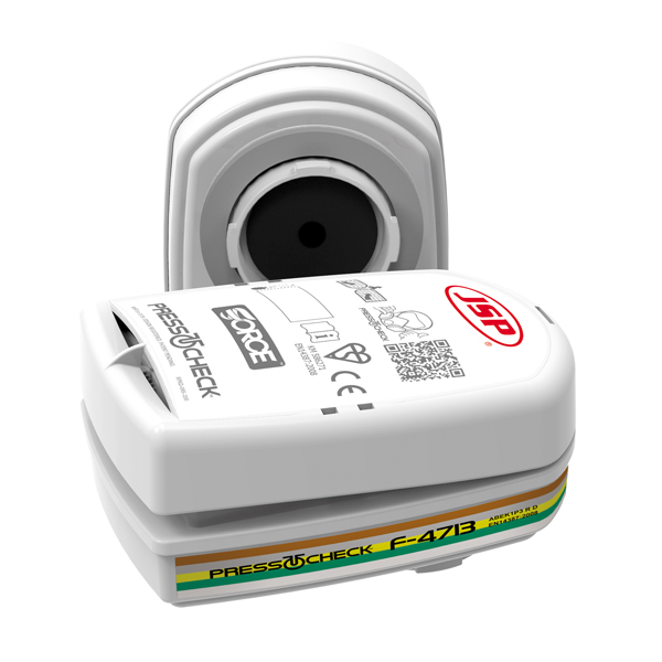 JSP Press To Check ABEK1 P3 Filters (Pack of 2) BMN750-000-600