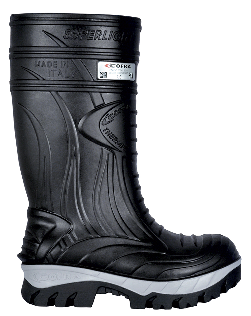 COFRA THERMIC BLACK SAFETY WELLINGTON S5 CI HRO SRC