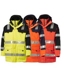 VIKING SUPERIOR  3 IN 1 WATERPROOF HIVIS PARKA JACKET 112043-120