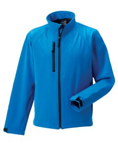 Russel R140M Softshell Jacket-AZURE-EXTRA SMALL