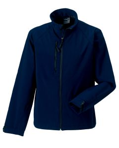 Russel R140M Softshell Jacket-FRENCH NAVY-EXTRA SMALL