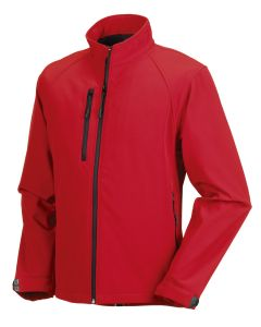 Russel R140M Softshell Jacket-RED-EXTRA SMALL
