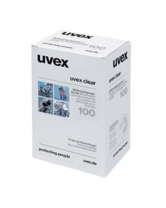 UVEX LENS CLEANING TOWELETTES (BOX OF 100) - 9963000