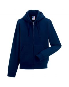 266M Russell Authentic Zipped Hood Sweat