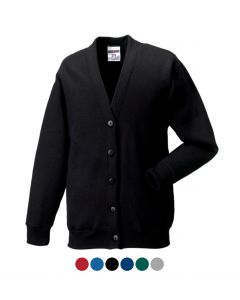 Russell Ring-Spun Cotton Cardigan 273M