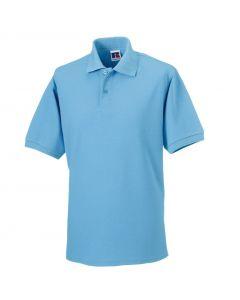 599M-599M Russell Hardwearing Polycotton Polo Shirt