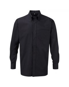 932M-932M Russell Collection Men's Long Sleeve Easy Care Oxford Shirt