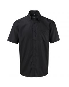 957M Russell Collection Men's Short Sleeve Ultimate Non-Iron Shirt