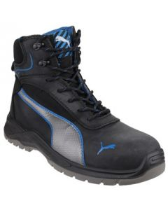 PUMA BLACK ATOMIC MID S3 STEEL TOE BOOTS