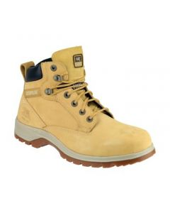 CATERPILLAR KITSON HONEY S1 STEEL TOE BOOTS