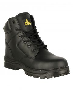Amblers Black S3 Waterproof Non Metallic Safety Boots FS006C