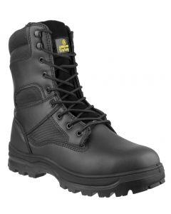 Amblers Black S3 Steel Toe Boots FS008