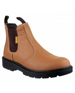 Amblers Tan SBP Pull-On Dealer Steel Toe Boots FS115