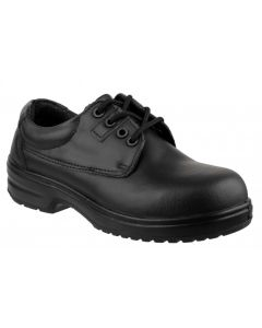 Amblers Black S1P Ladies Non Metal Safety Shoes FS121C