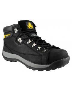Amblers Black SBP Steel Toe Boots FS123