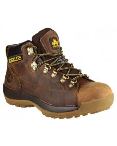 Amblers Brown SBP Steel Toe Boots FS126