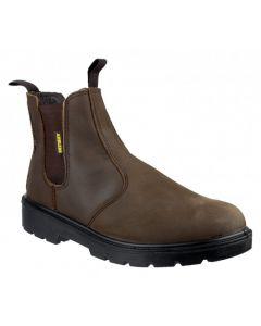 Amblers Brown SBP Steel Toe Boots FS128