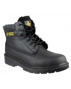 Amblers Black S1P Non Metallic Safety Boots FS12C