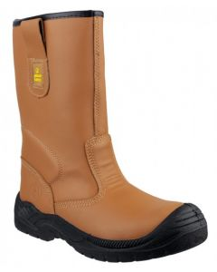 Amblers Tan S3 Steel Toe Boot FS142