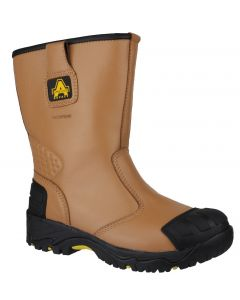 Amblers Tan S3 Waterproof Rigger Safety Boots FS143