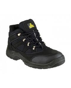 Amblers Black SB-P Steel Toe Boots FS151