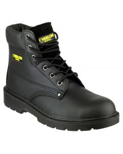 Amblers Black S3 Steel Toe Boots FS159