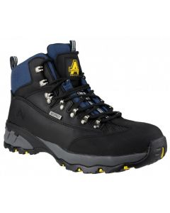 Amblers Black S3 Waterproof Steel Toe Boots FS161