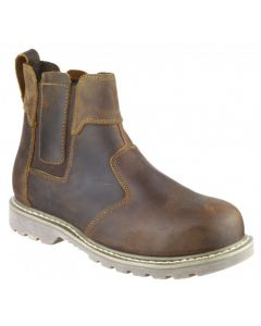 Amblers Brown SBP Dealer Safety Boots FS165
