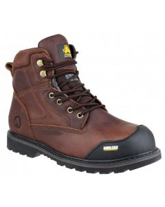 Amblers Brown SBP Steel Toe Boots FS167