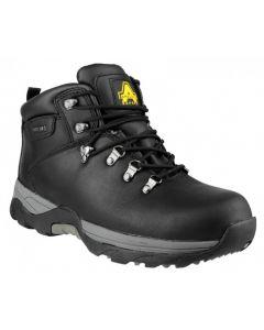 Amblers Black SBP Steel Toe Boots FS17