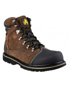 Amblers Brown S3 Waterproof Safety Boots FS227