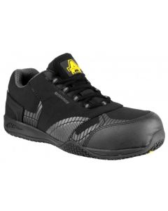 Amblers Black S3 Waterproof Safety Trainers FS29C