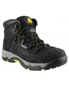 Amblers Black S3 Steel Toe Boots FS32