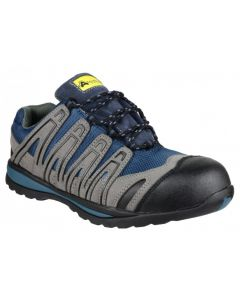 Amblers Blue S1P Safety Trainers FS34
