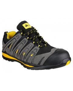 Amblers Black S1P Safety Trainers FS42C