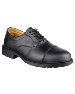 Amblers Black S1P Oxford Safety Shoes FS43
