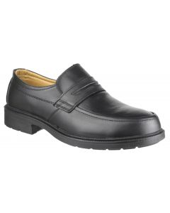 Amblers Black S1 Slip-on Safety Shoe FS46