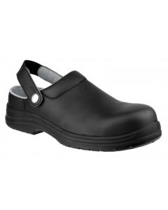 Amblers Black Clog SB Safety Shoes FS514